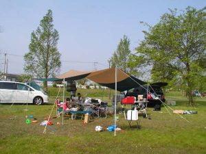 琵琶湖でキャンプとバス釣り