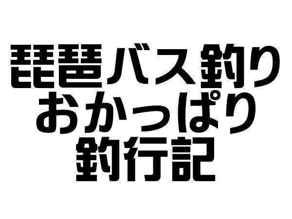 琵琶湖バス釣り釣行記