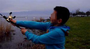 琵琶湖でBBQ&バス釣り