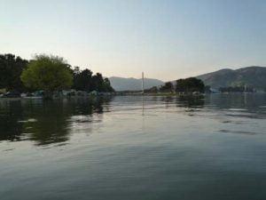 知内川バス釣り