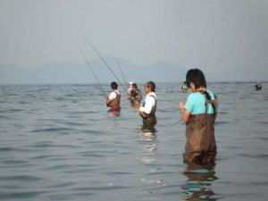 和邇川バス釣り合戦場