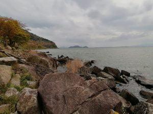 琵琶湖おかっぱりバス釣り
