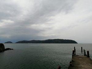 琵琶湖バス釣りポイント石切湾南の桟橋
