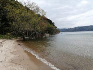 琵琶湖おかっぱりバス釣りポイント宮ケ浜水泳場